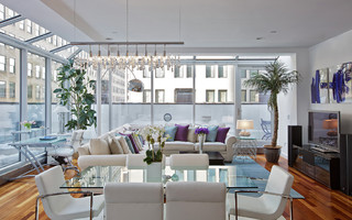Tribeca penthouse contemporary-living-room