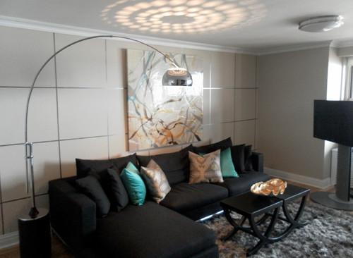 Genial Arc Lamp Living Room