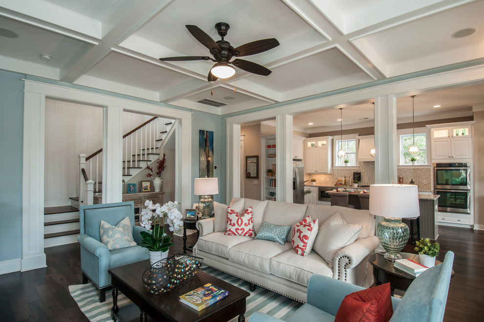 Tributary - Traditional - Living Room - Charleston - by ...