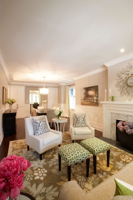 Small Living Room Layouts with Fireplace-st.houzz.com