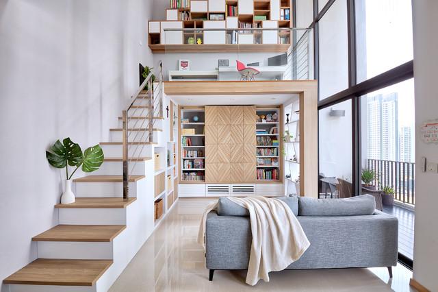Triling Loft 3 Bedders Contemporary Living Room