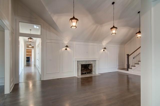 Elegant living room photo in Nashville