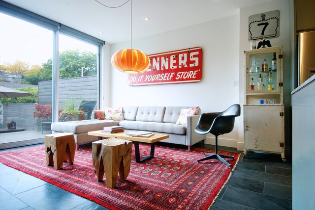 Vintage Living Room | Houzz