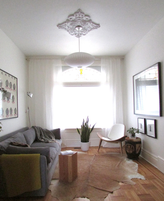 Trinity bellwoods victorian modern living room - Modern victorian living room ...
