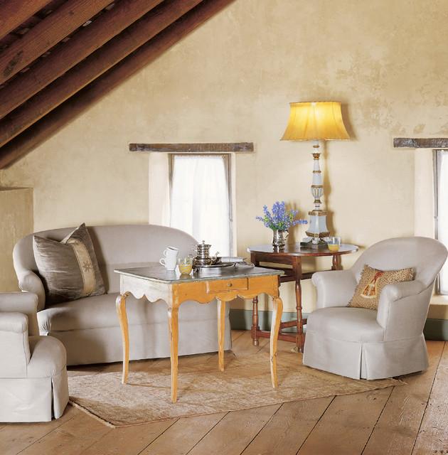 Houzz Farmhouse Living Room: Triple-Creek Ranch