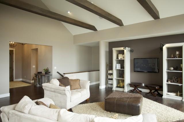 Triton Homes, Signature Series. Spring Parade 2012 contemporary-living-room