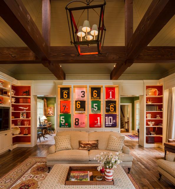 Houzz Farmhouse Living Room: Philadelphia