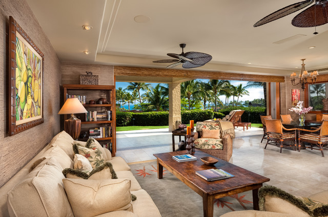 tropical decorating ideas for living rooms portfolio tropical living room hawaii by ethan 25116