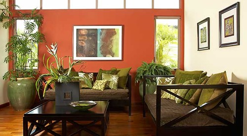 Long   Associates AIA  tropical living roomFrugal with a Flourish  Fear and Loathing in my Living Room. Tropical Living Room Design. Home Design Ideas