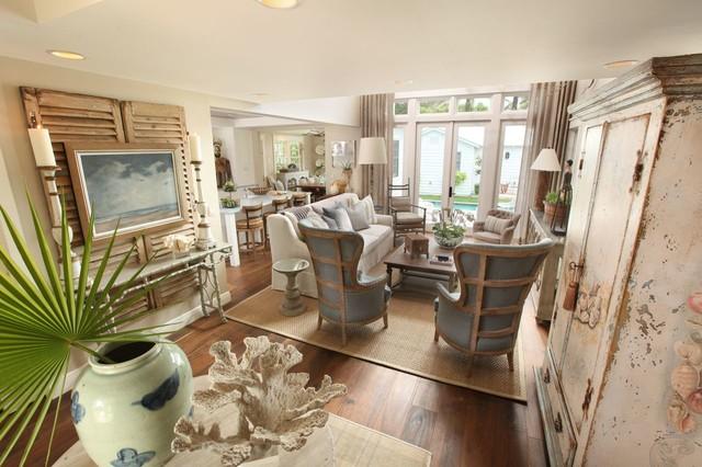 Naples Florida Cottage Tropical Living Room Other By Ren E Gaddis Interiors