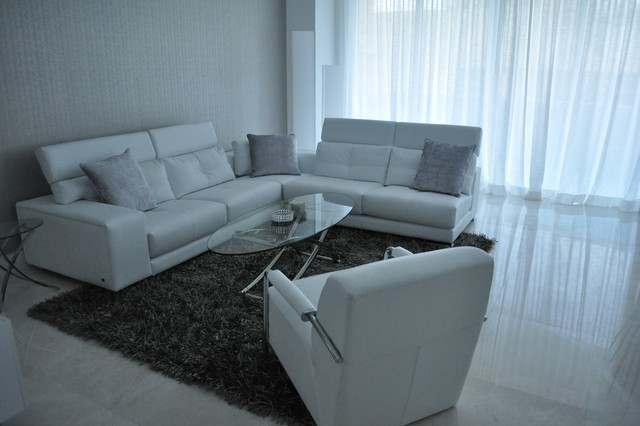 Trump Residences Contemporary Living Room Miami By Wasser 39 S Exclusive Furniture Interiors