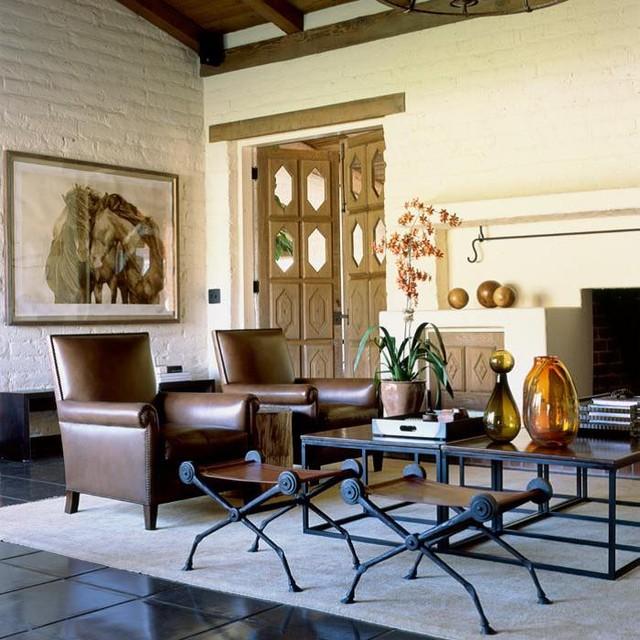 Desert Oasis eclectic-living-room