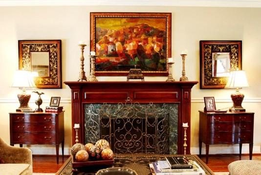 Tudor traditional-living-room
