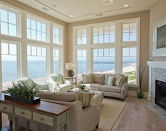 Tupelo beach style living room