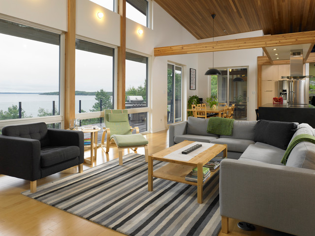 70626 - Turkel Design for the Dwell Homes Collection contemporary-living-room