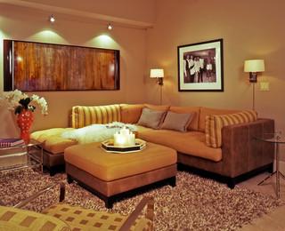 Turn key modern condo modern living room other metro by cih design - Secret keys contemporary living room design ...