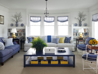 Turn Of The Century Cottage   Beach Style   Living Room   Chicago   By Tom  Stringer Design Partners