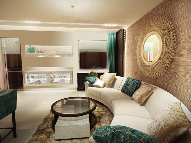 Amenagement Salon  ment Disposer Le Canape Et La Table also Bedroom Decorating Ideas With Maroon Carpet together with Blue Yellow Grey Interior Design further Grey Kitchen Ideas together with Living Room And Stairs After. on aqua and brown bedroom decorating ideas