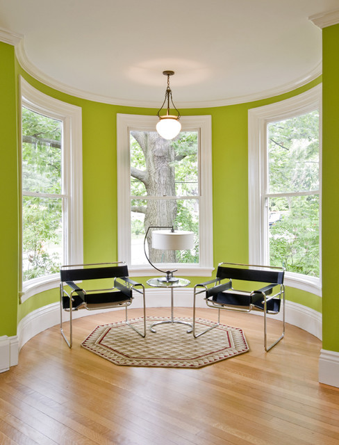 Decorating A Turret Living Room