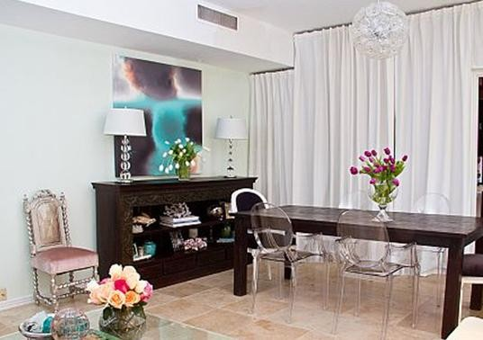 Turtle Creek Living & Dining contemporary-living-room