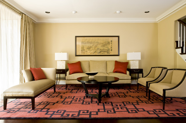 Tuscan Dynasty Asian Living Room Dc Metro By Lorna