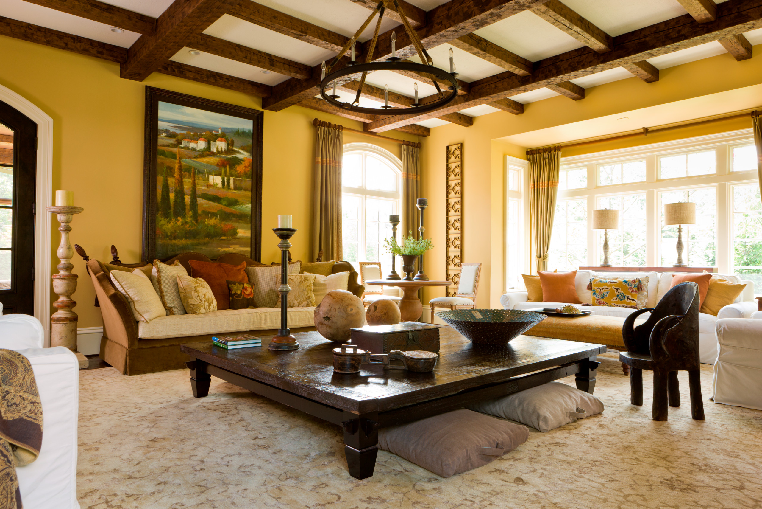 75 Beautiful Yellow Living Room Pictures Ideas December 2020 Houzz