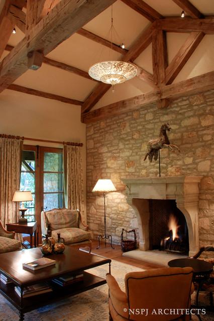 Tuscan Living Room Mediterranean Living Room Kansas