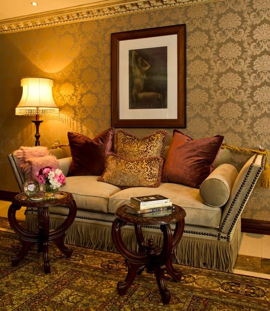 Luxury Classic Living Rooms: Tuscan Luxury