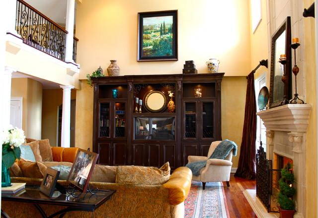 Tuscan Residence traditional-living-room