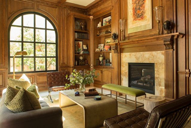 Tuscan Style In River Oaks Study Mediterranean Living