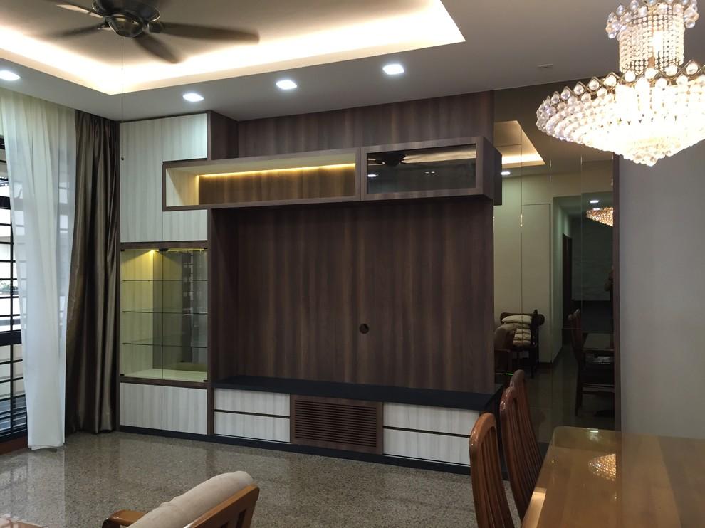 Wohnzimmer in Singapur