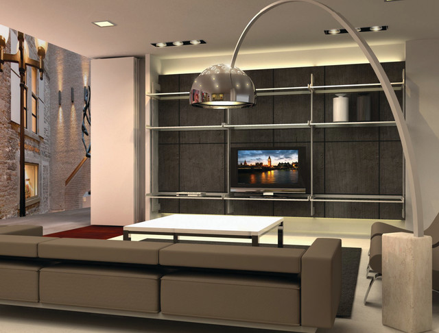 Tv Entertainment Center - Modern - Living Room - Miami - by Modu ...