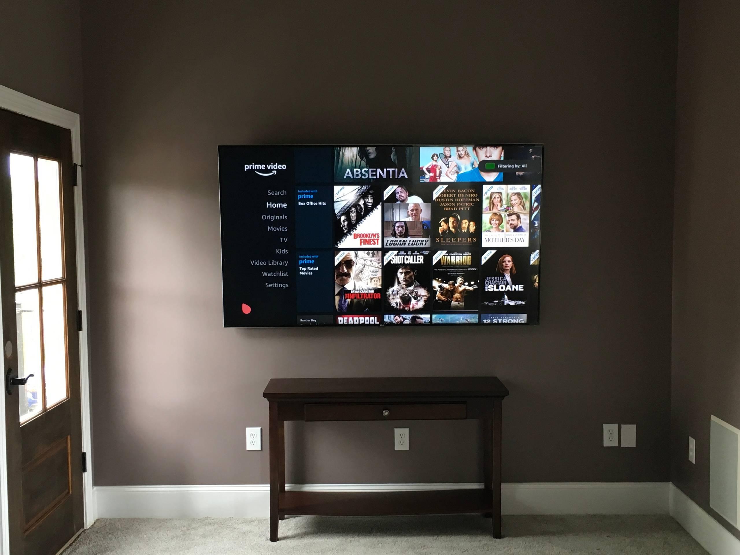 TV Mount/Installation
