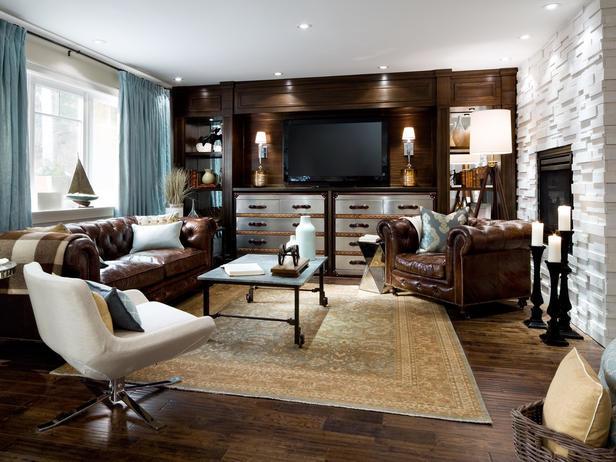 TV Shows / Celebrity Designers Transitional Living Room