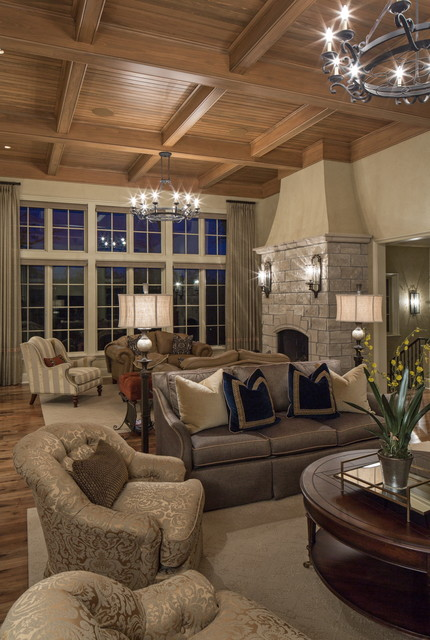 Twelve Oaks traditional-living-room