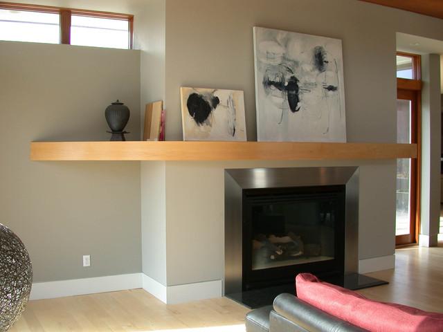 Twin Flower Residence modern-living-room