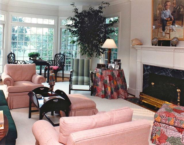 TWIN  POPLARS living-room