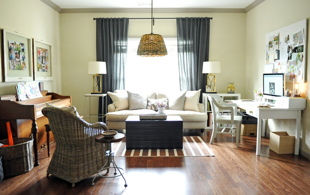 Two ellie for Grand piano in living room layout