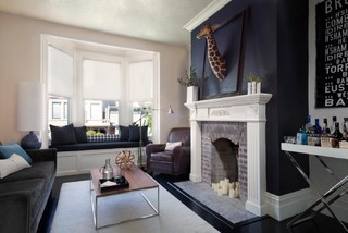 Two guys in Pacific Heights - Transitional - Living Room - San Francisco