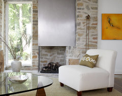Madison St contemporary-living-room