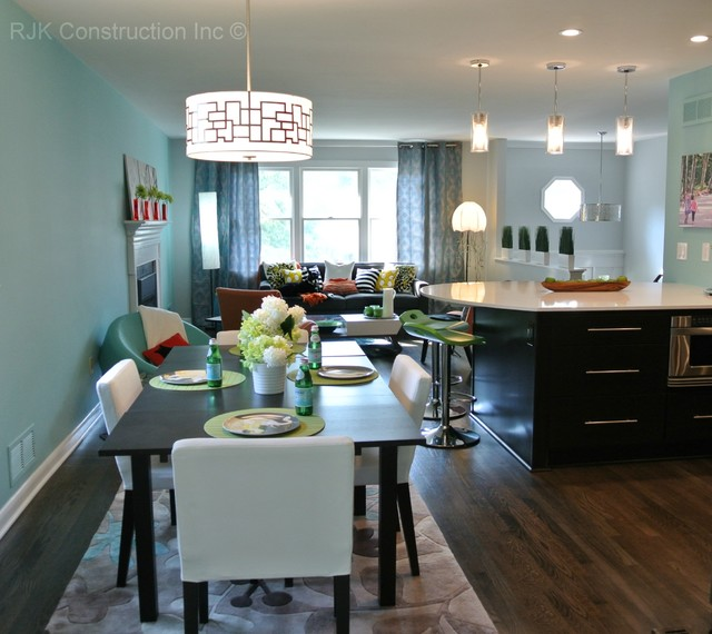Design For Living Room With Open Kitchen Houzz Home Design: Ultra Modern Living Room