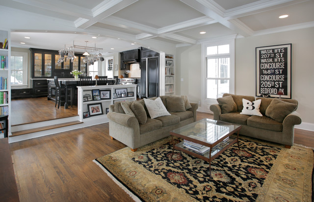 Union Hill Residence - Traditional - Living Room - New ...