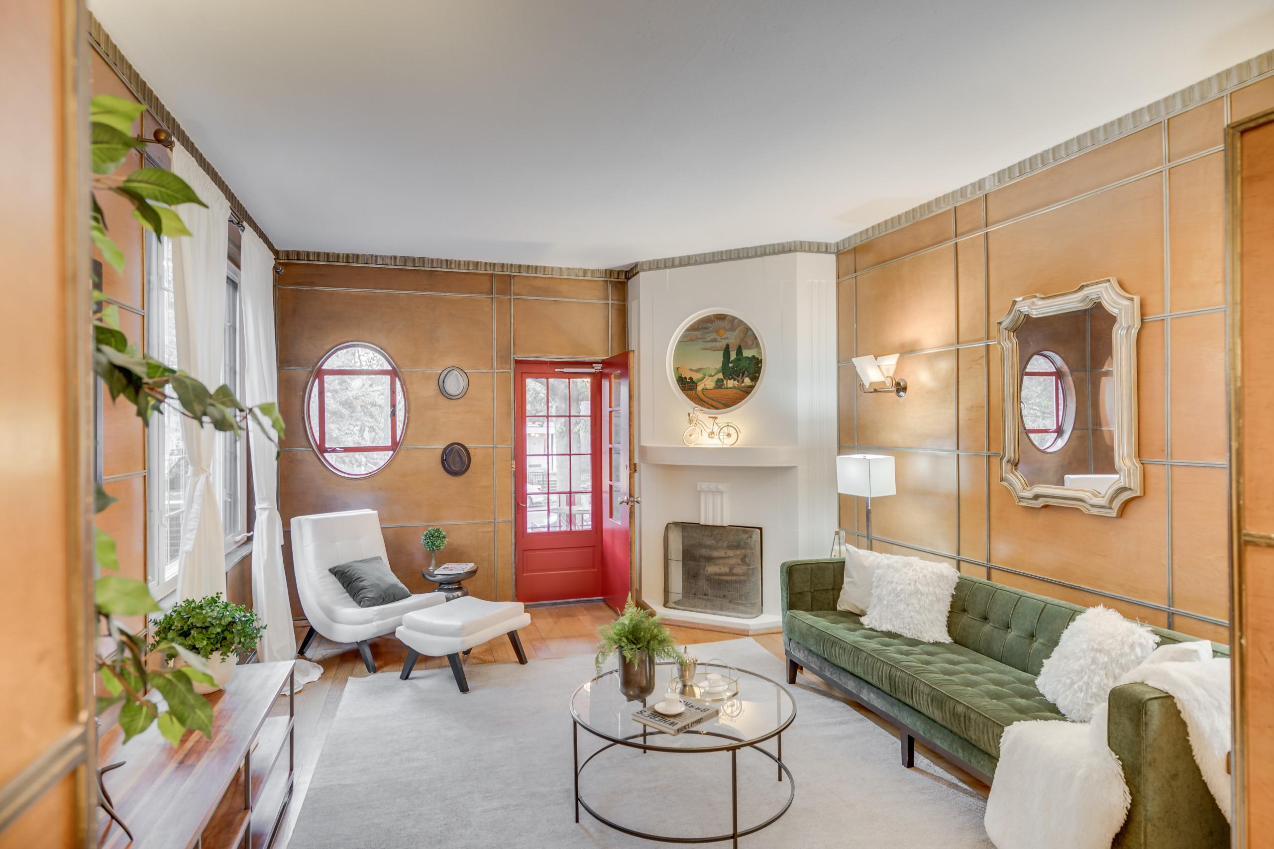 Unique Art Deco Home Staging in Washington DC