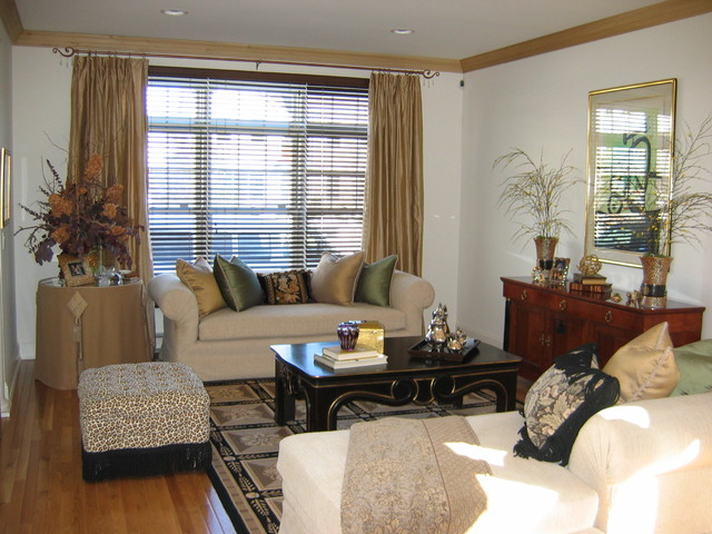 Window treatments for the living room - Living room picture window treatments ...