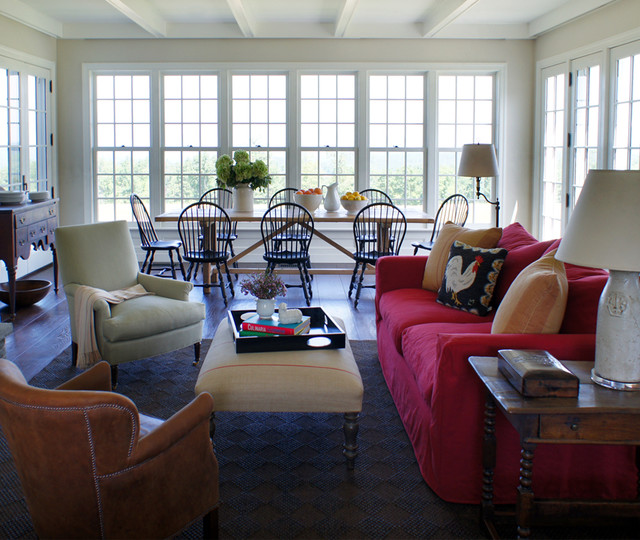 Updated Americana Traditional Dining Room New York By Christopher Burns Interiors