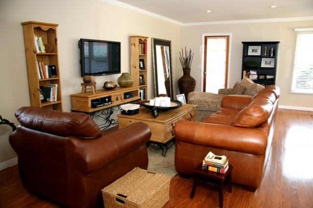 Updated Mesa Terrace modern-living-room