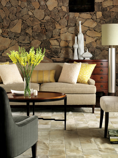 Upholstery transitional-living-room