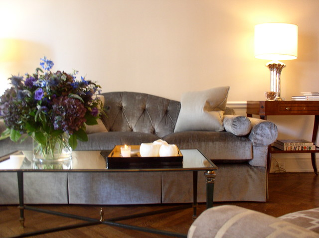 Upper East Side 1 traditional-living-room
