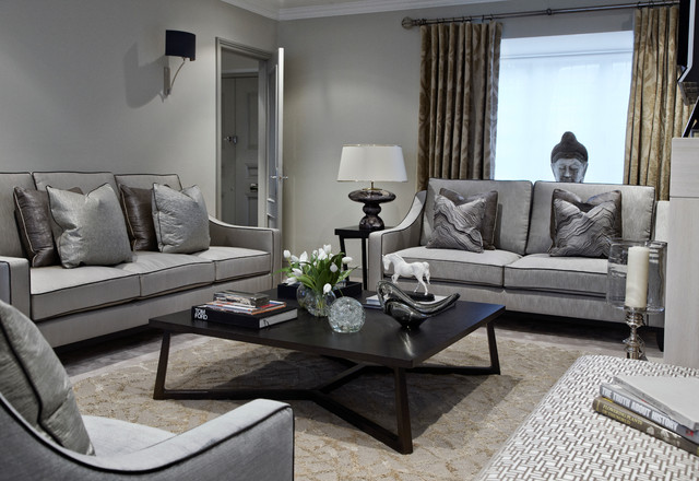 Upper Park - Contemporary - Living Room - London - by Bailey London ...