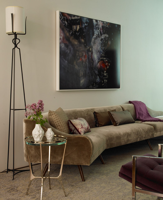 Upper West Side Residence contemporary-living-room